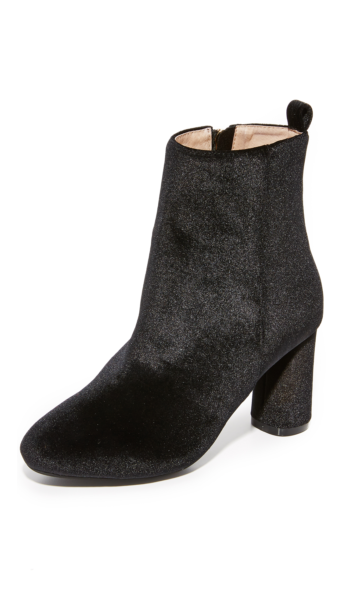 raye female raye afton velvet booties black