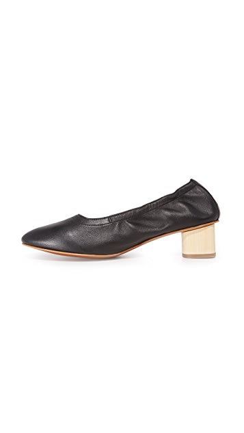 Robert Clergerie Block Heel Pumps