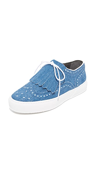 Robert Clergerie Flat Sneakers - Denim