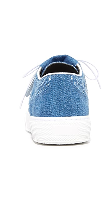 Robert Clergerie Flat Sneakers
