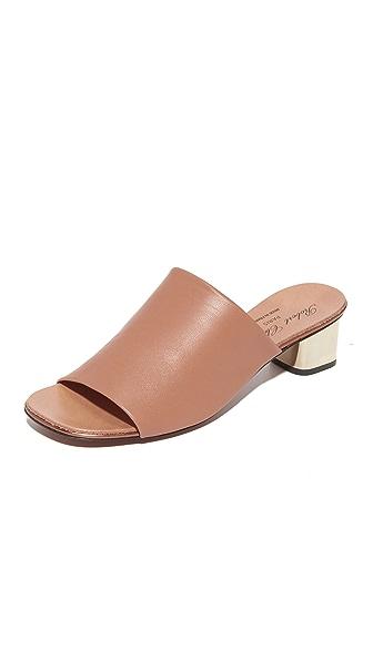 Robert Clergerie Block Heel Sandals - Skin