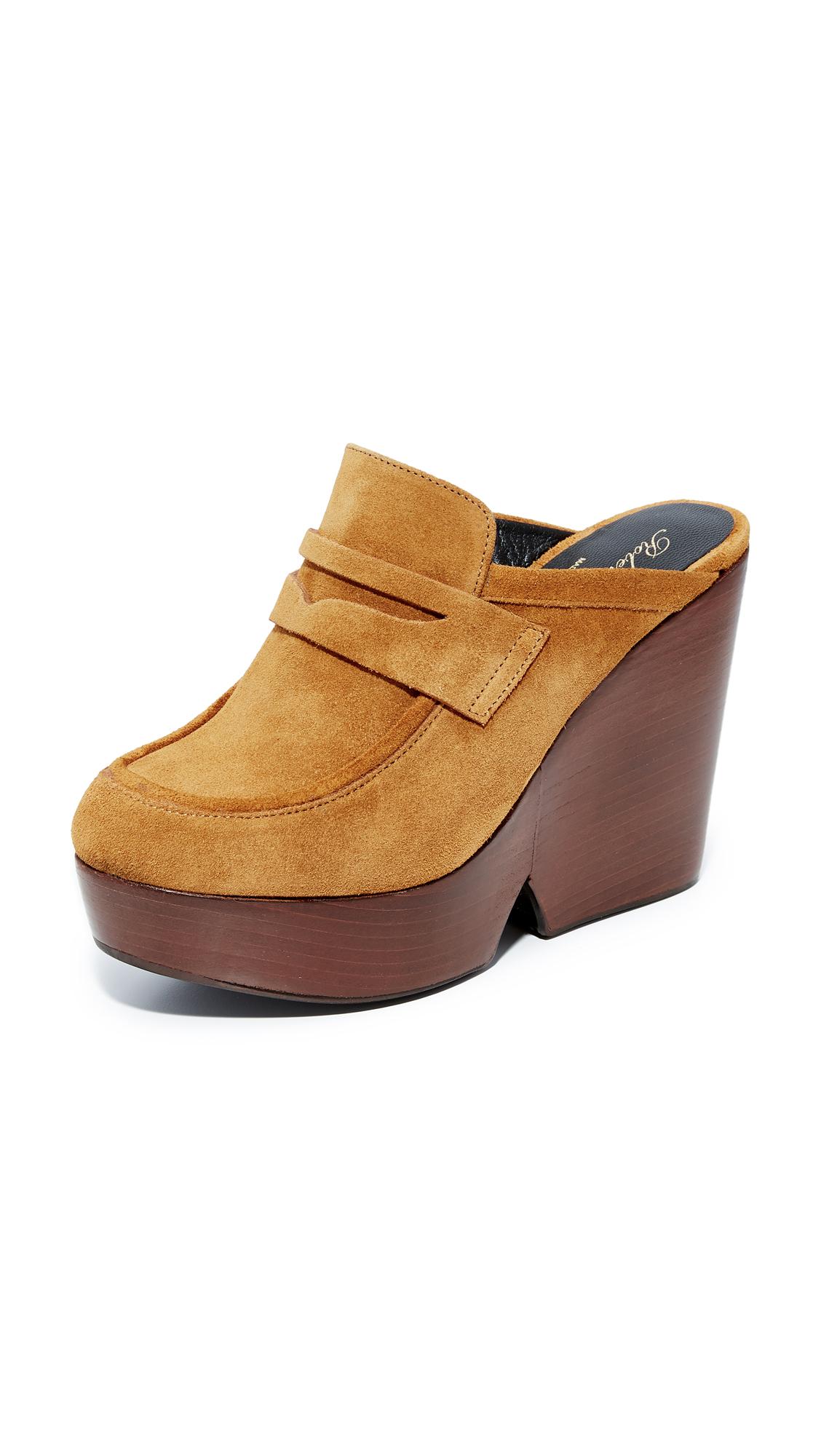 Robert Clergerie Damor Block Heel Sandals - Savanna