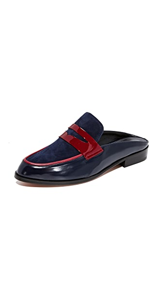 Robert Clergerie Allan Loafer Mules