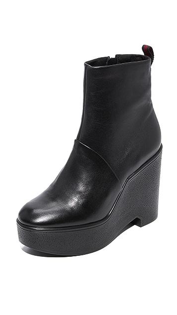 Robert Clergerie Bisouto Block Heel Booties