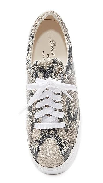 Robert Clergerie Tasket Platform Sneakers