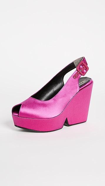 Robert Clergerie Dylann Platform Sandals