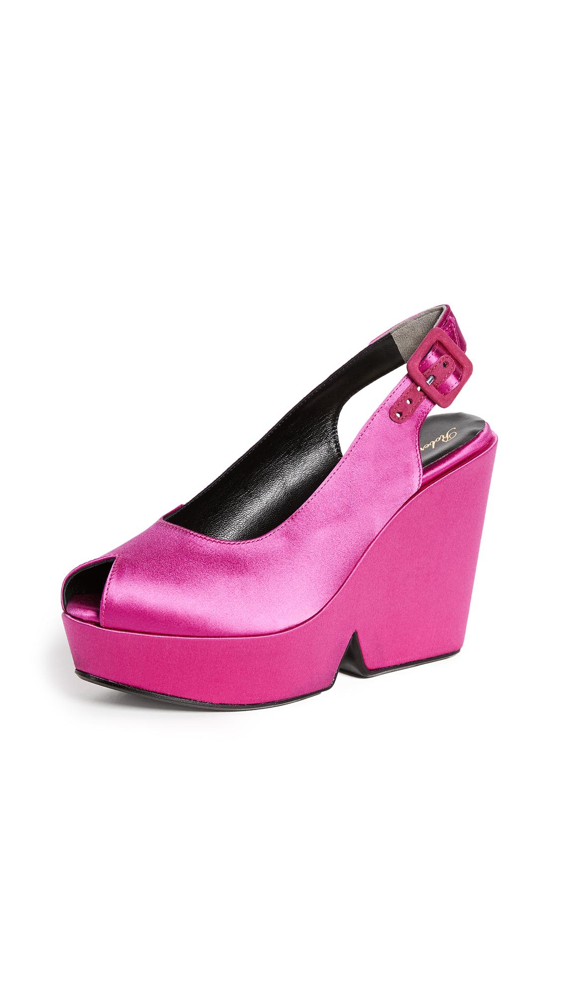 Robert Clergerie Dylann Platform Sandals - Pink