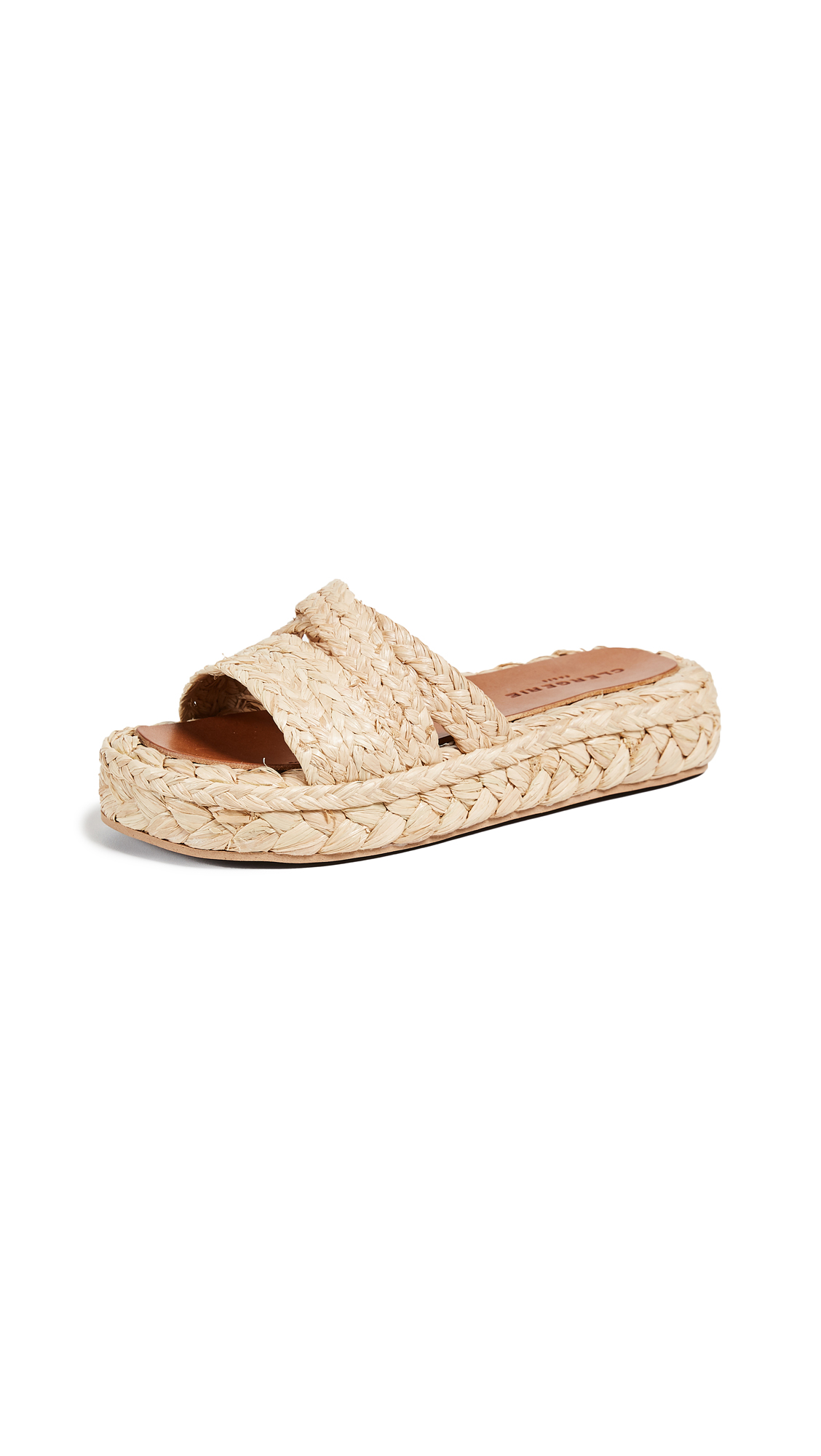 Robert Clergerie Idalie Raffia Sandals