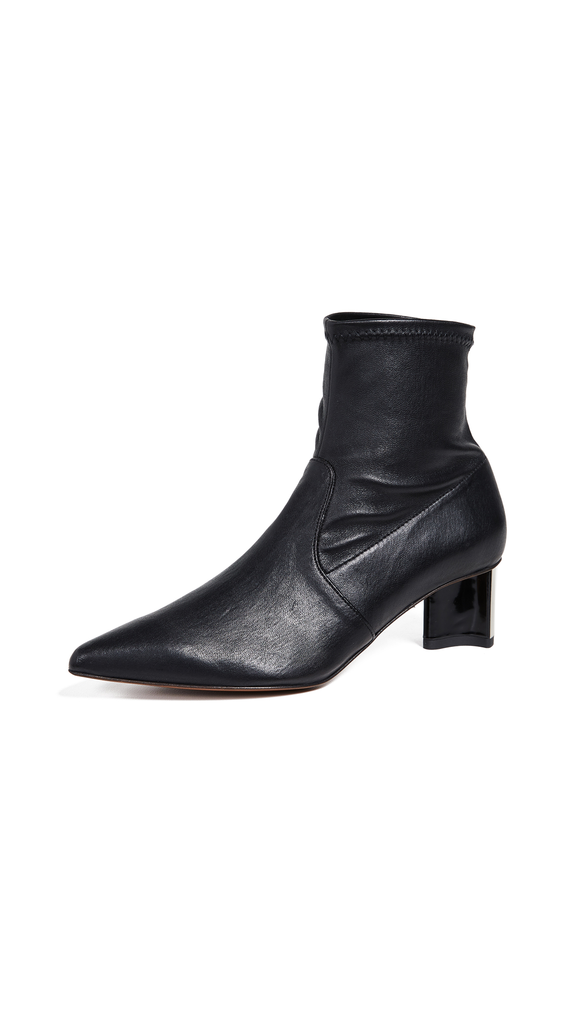 Robert Clergerie Serenaa Booties - Black