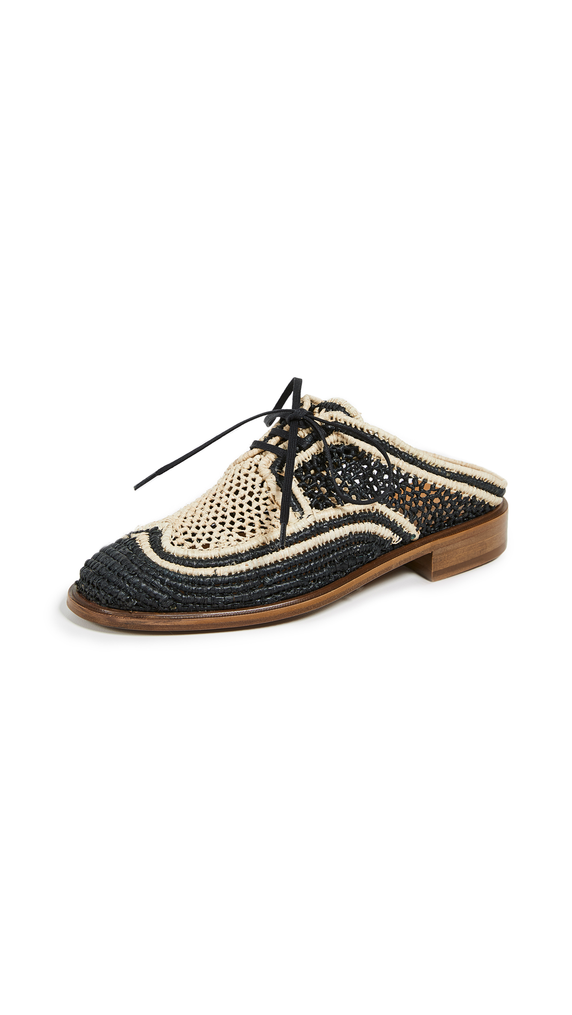 Robert Clergerie Jaly Oxford Mules - Black
