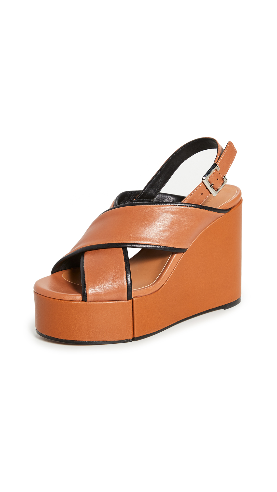 Buy Clergerie Mirane Wedge Sandals online, shop Clergerie