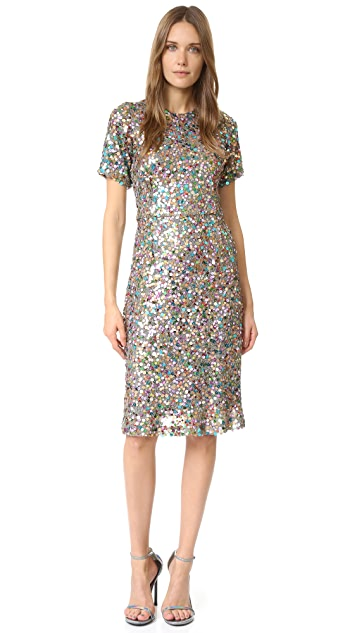 Rodarte Sequin Dress