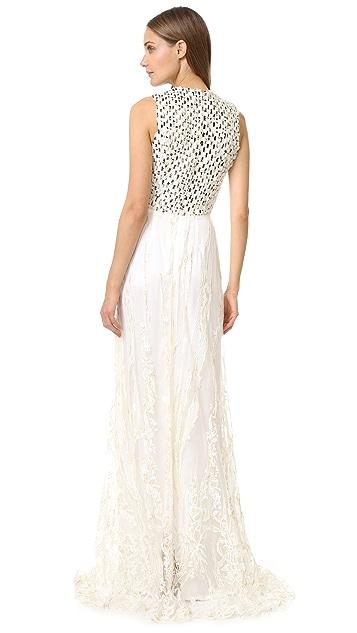 Rodarte Sleeveless Gown