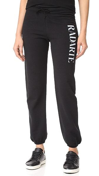 Rodarte Radarte Sweatpants In Black/White