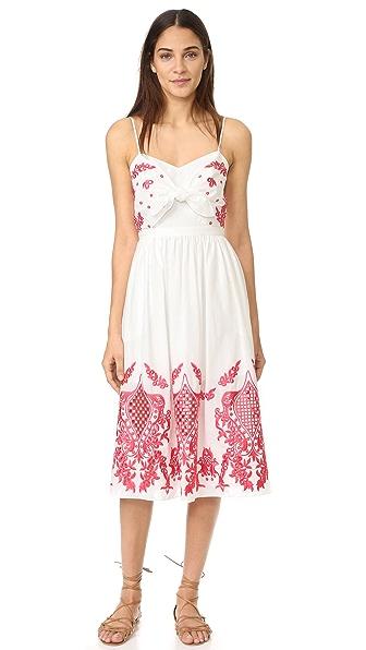 Red Carter Sage Dress