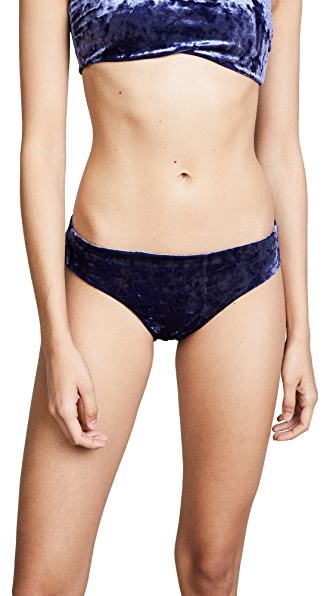 Red Carter First Crush Reversible Hipster Bottoms In Navy/Ocean