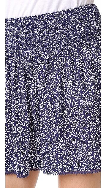 Rebecca Taylor Woodblock Shorts