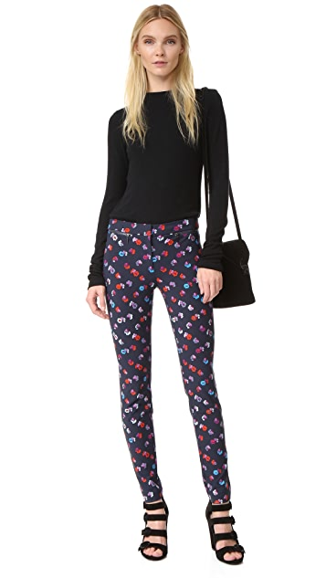 Rebecca Taylor Sakura Floral Pants