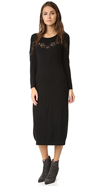 Rebecca Taylor Dress with Lace Detail