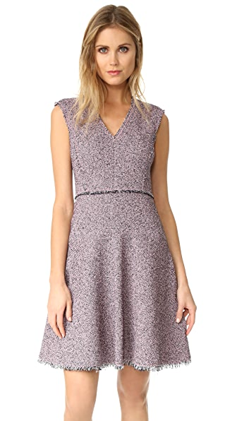 Rebecca Taylor Sleeveless Tweed Dress at Shopbop