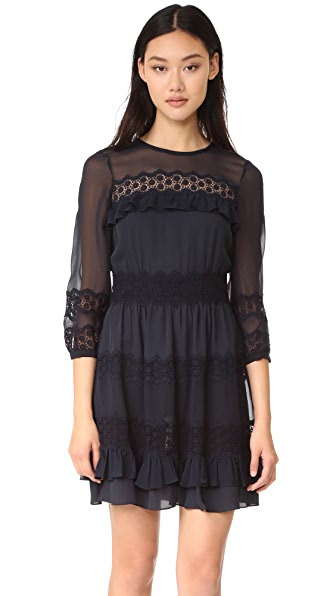 Rebecca Taylor Long Sleeve Dress