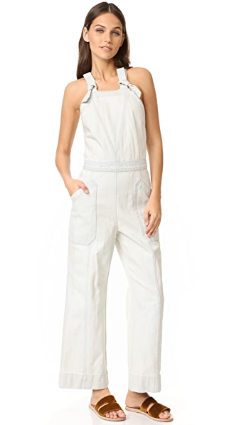 Rebecca Taylor Denim Jumpsuit at Shopbop