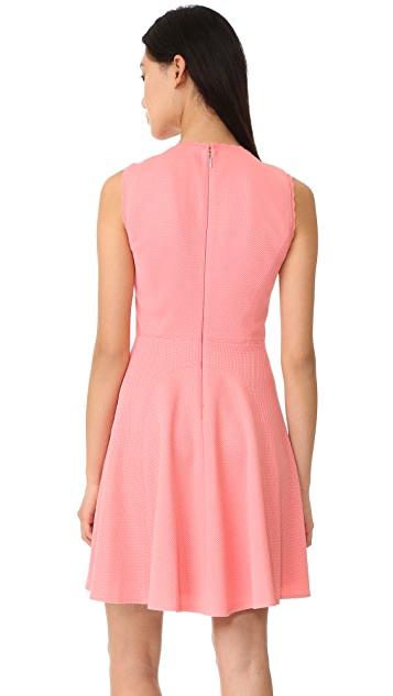 Rebecca Taylor Sleeveless Textured Dress
