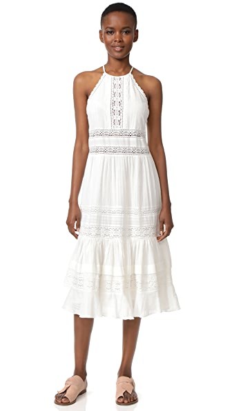 Rebecca Taylor Sleeveless Gauze Midi Dress at Shopbop