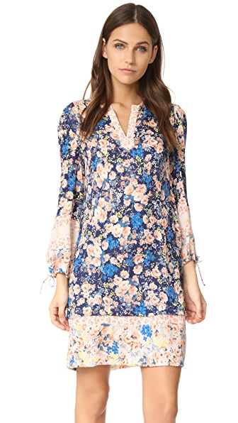 Rebecca Taylor Long Sleeve Gigi Floral Dress