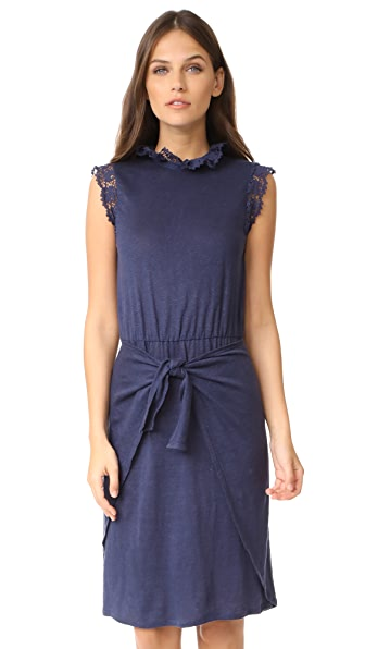 Rebecca Taylor Sleeveless Crochet Jersey Dress at Shopbop