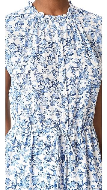 Rebecca Taylor Sleeveless Aimee Shirtdress