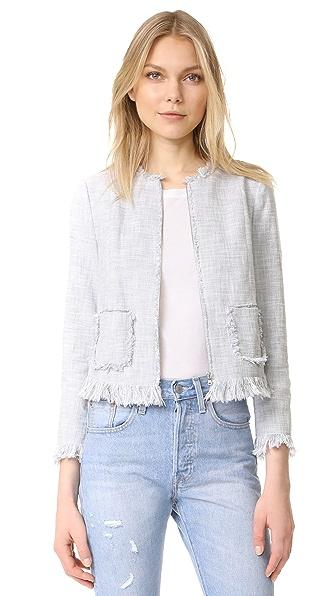 Rebecca Taylor Slub Suiting Jacket