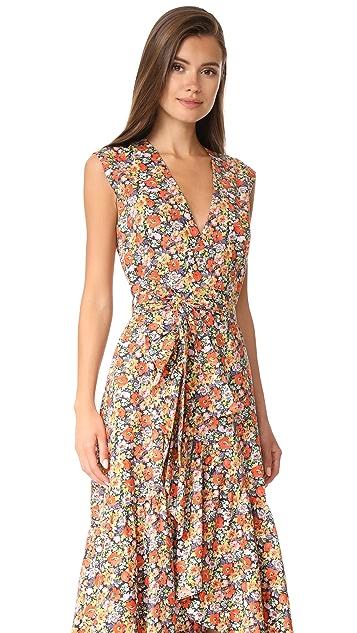 Rebecca Taylor Sleeveless Moonlight Pop Dress