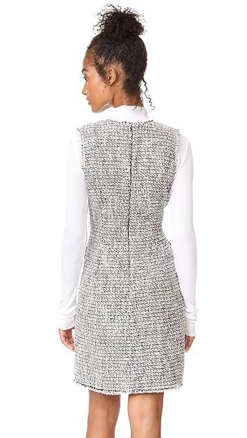 Rebecca Taylor Mixed Tweed Dress