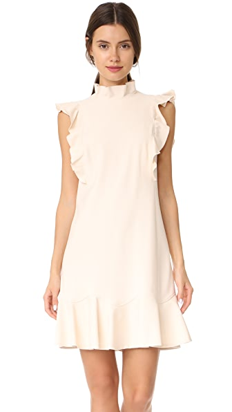 Rebecca Taylor Ruffle Suit Dress