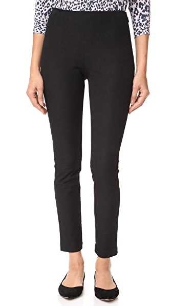 Rebecca Taylor Audrey Pants In Black