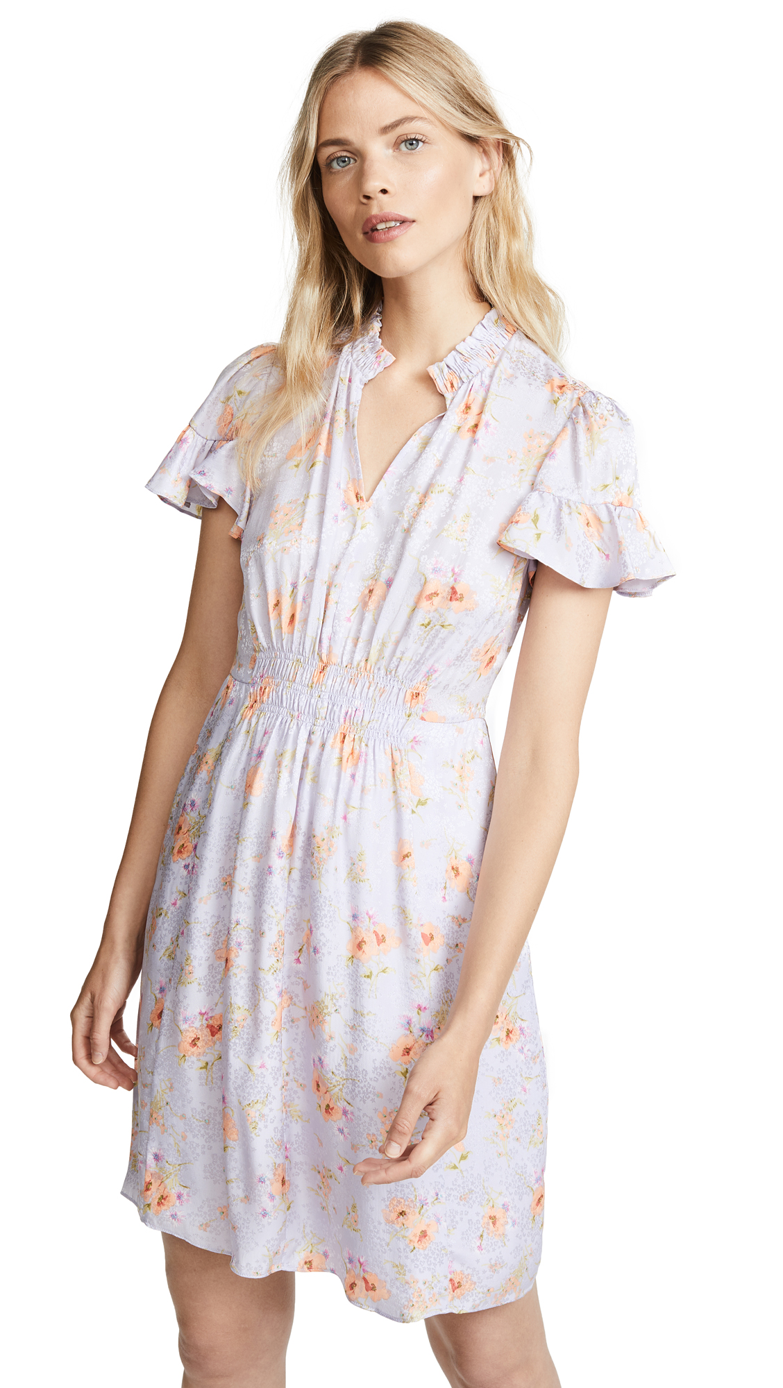 Rebecca Taylor Emilia V Neck Dress