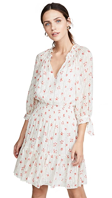 Photo of  Rebecca Taylor Long Sleeve Maui Clip Dress - shop Rebecca Taylor dresses online sales