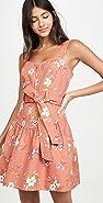 Rebecca Taylor Sleeveless Lita Linen Dress