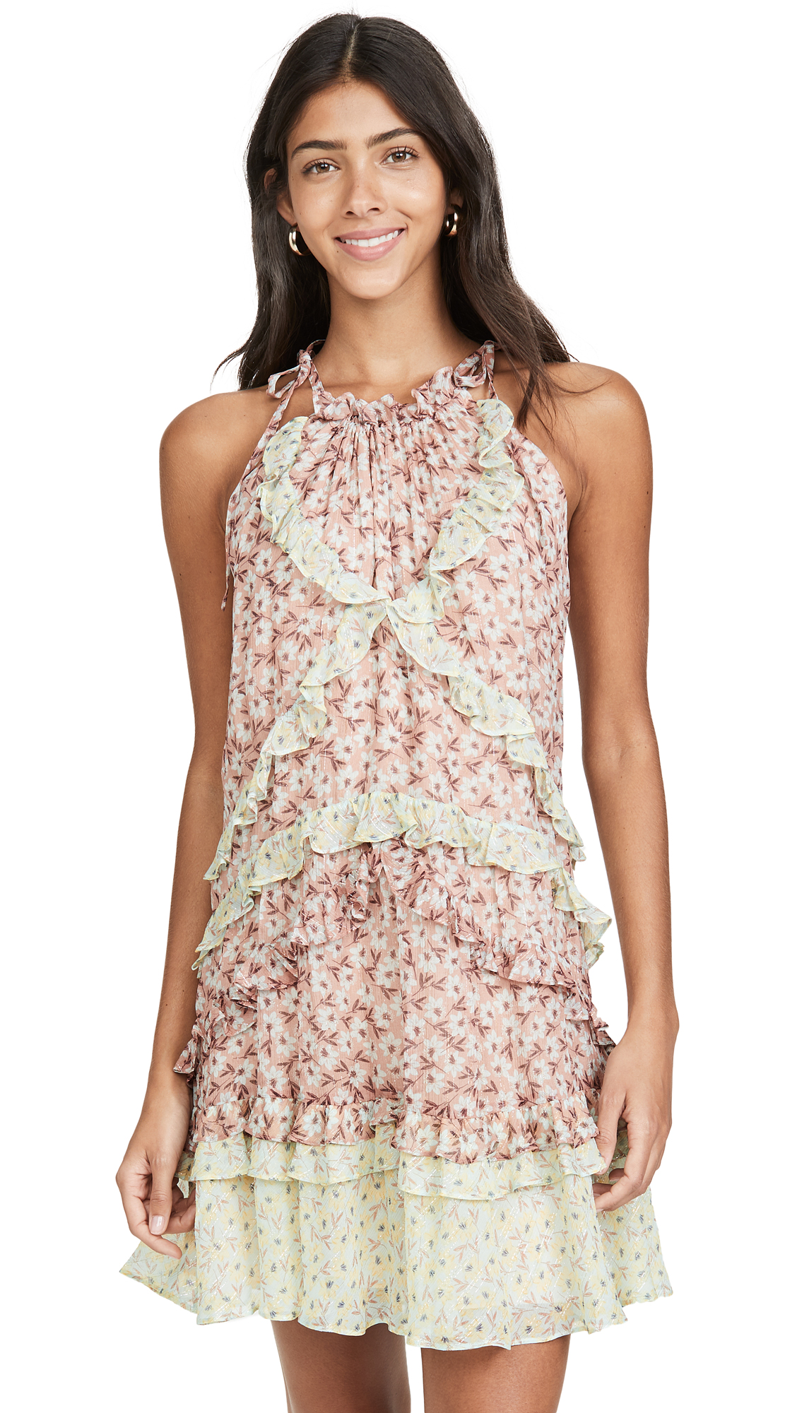 Buy Rebecca Taylor online - photo of Rebecca Taylor Sleeveless Lucia Tie Dress