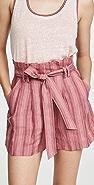 Rebecca Taylor Stripe Shorts