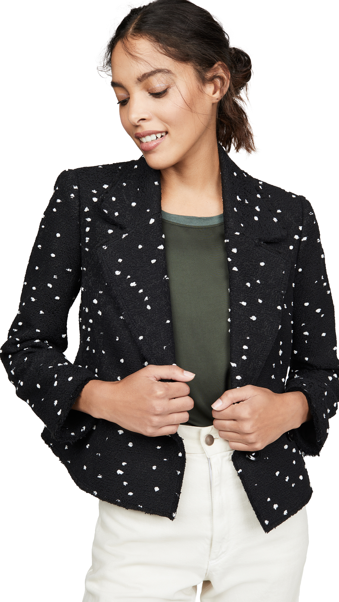 Buy Rebecca Taylor online - photo of Rebecca Taylor Boucle Tweed Jacket