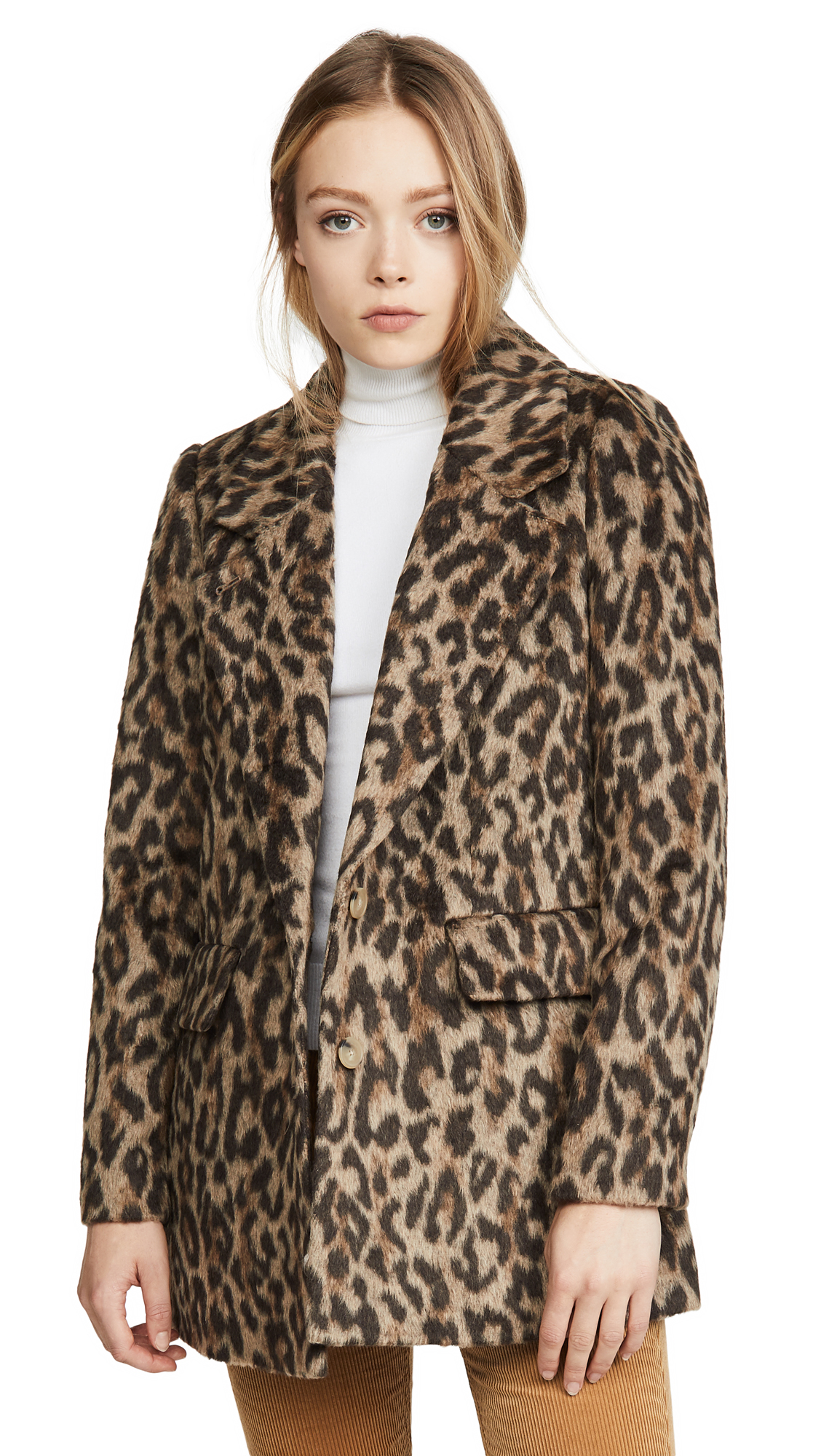 Buy Rebecca Taylor online - photo of Rebecca Taylor Leopard Coat