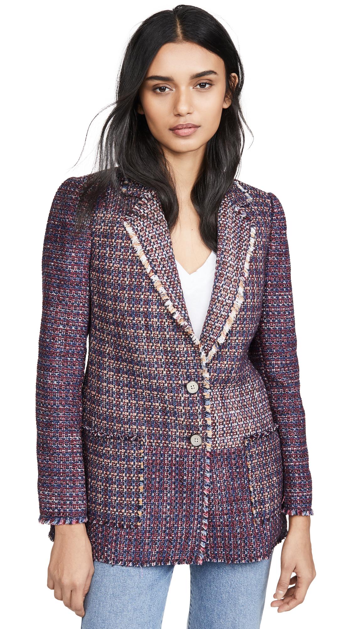 Buy Rebecca Taylor online - photo of Rebecca Taylor Blanket Tweed Blazer