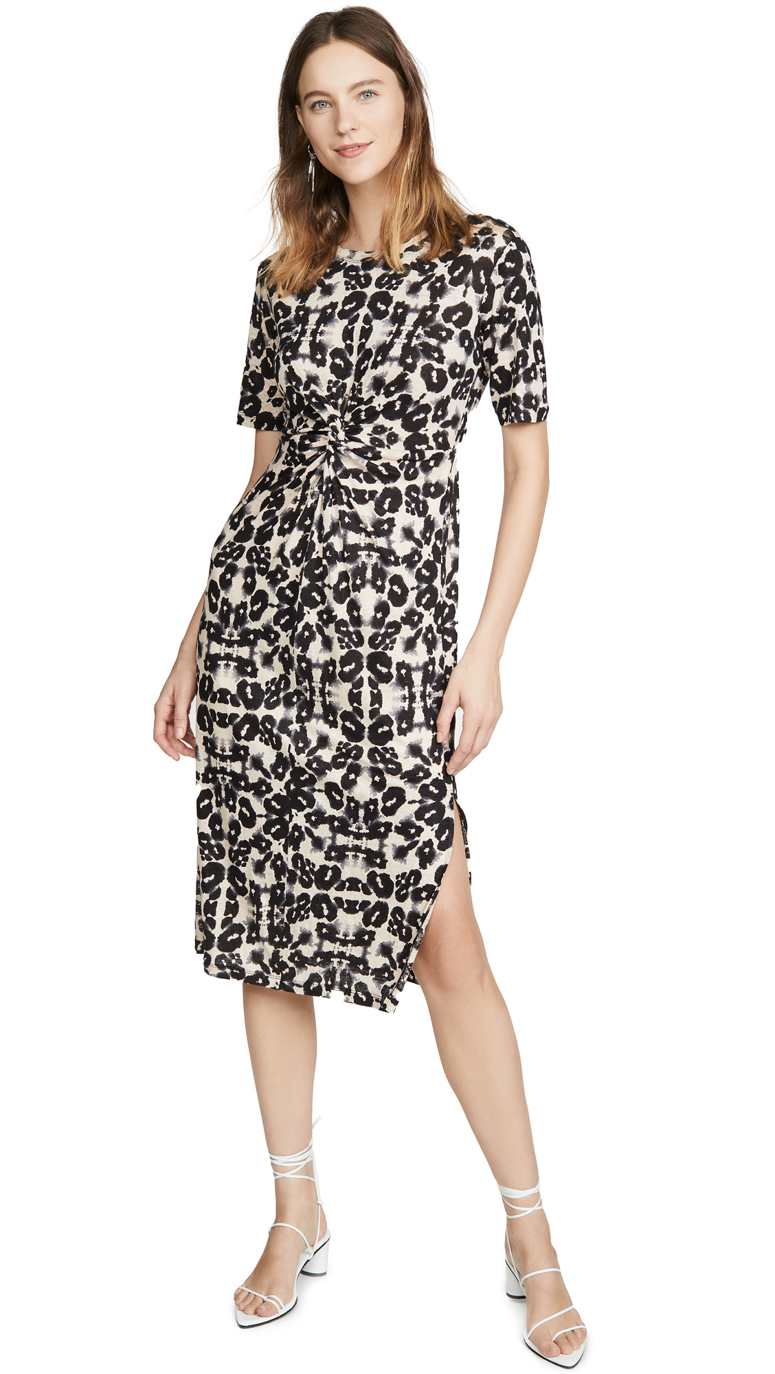 Buy Rebecca Taylor online - photo of Rebecca Taylor Short Sleeve Kaleidescope Jersey Dress
