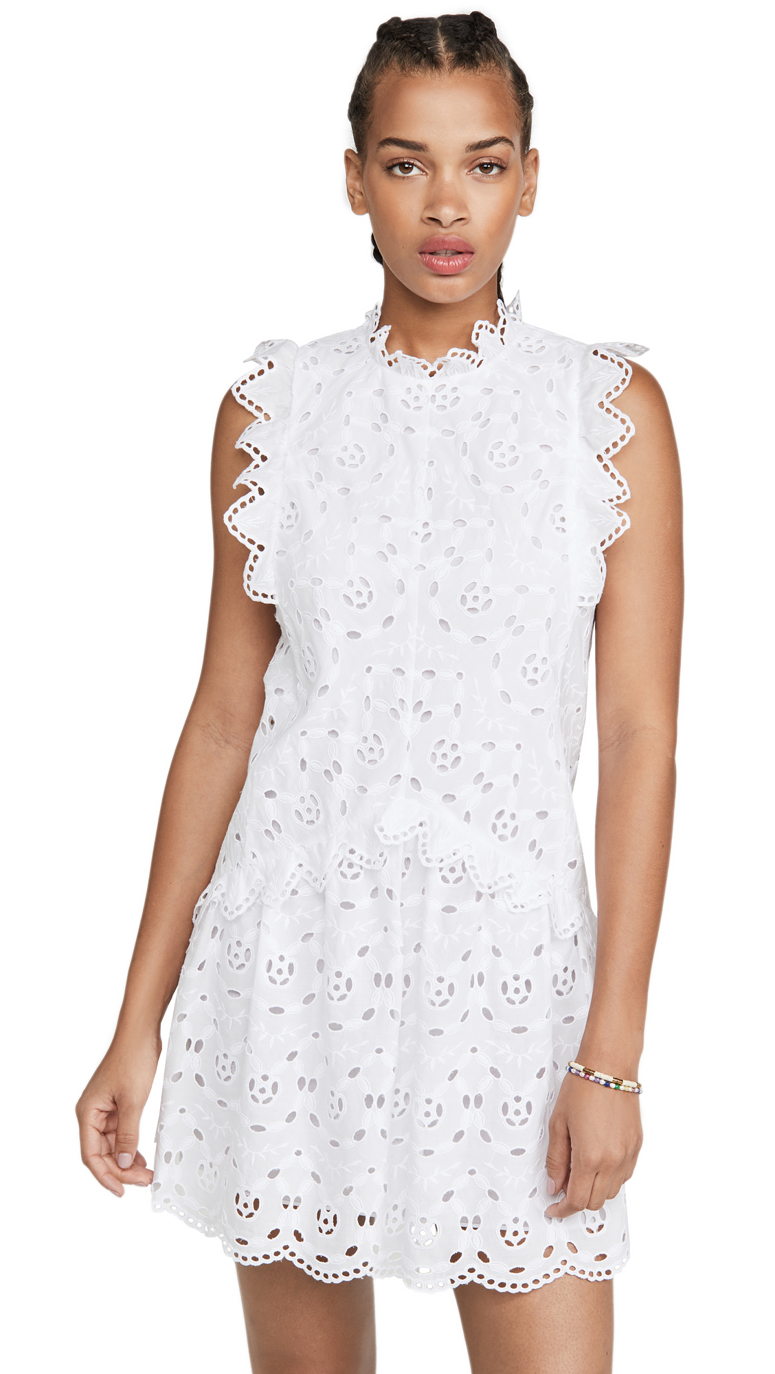 Buy Rebecca Taylor Sleeveless Mina Eyelet Dress online beautiful Rebecca Taylor Clothing, Dresses