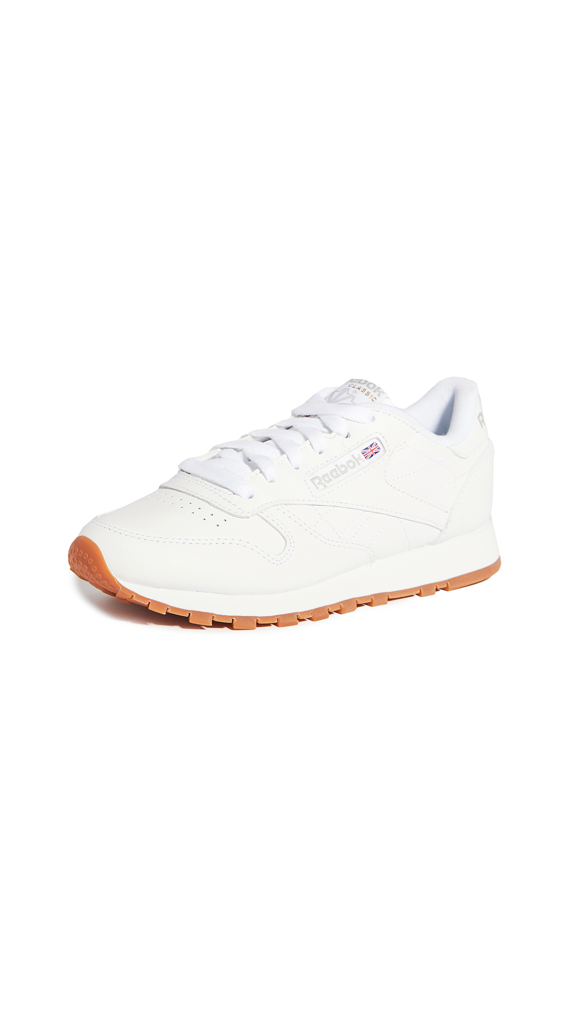 Reebok Classic Lace Up Joggers In White