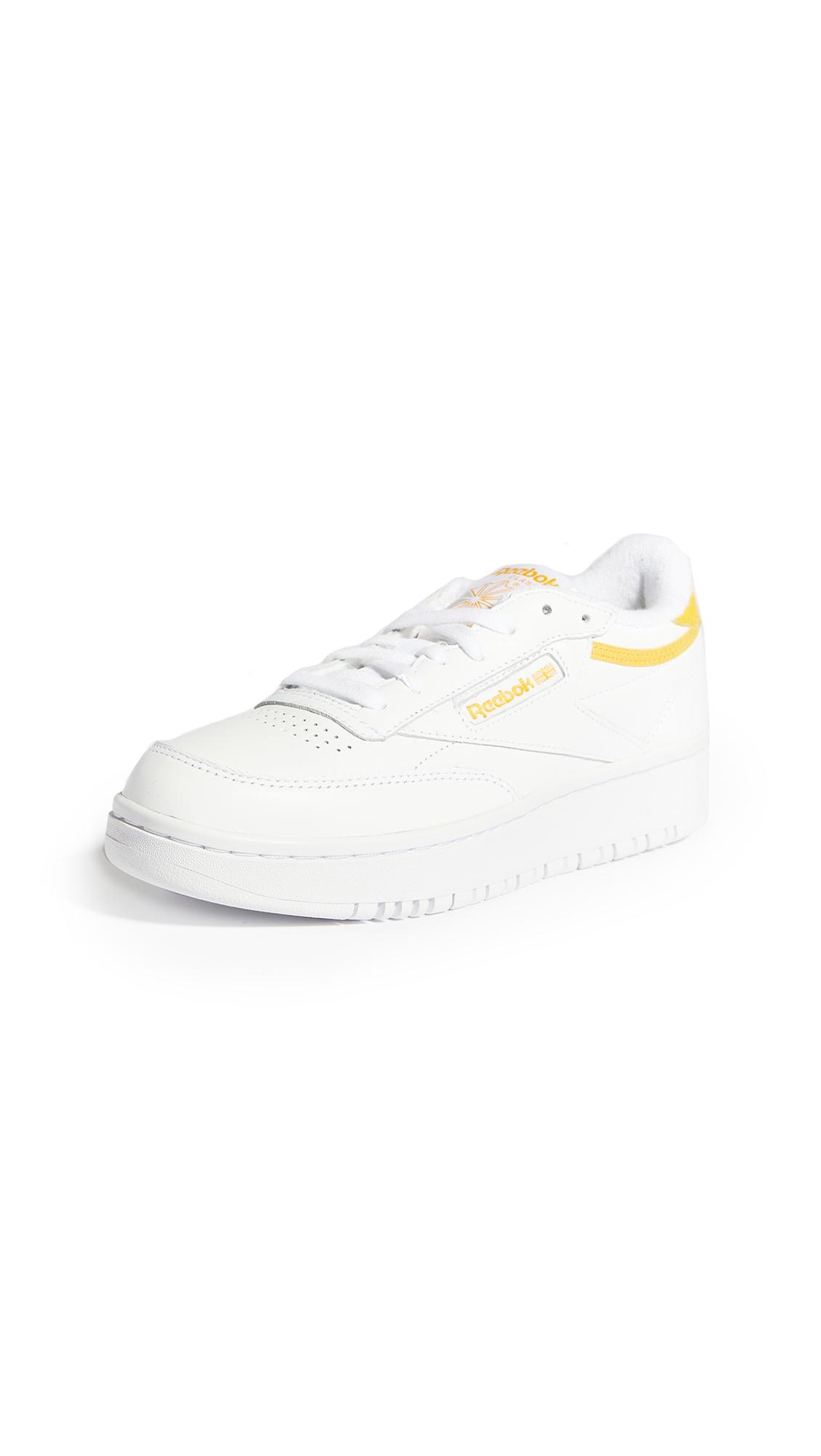 Buy Reebok Club C Double Lace Up Sneakers online, shop Reebok