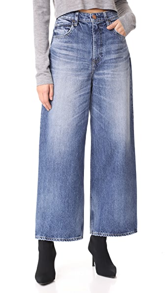 RED CARD Sunrise High Rise Wide Leg Jeans