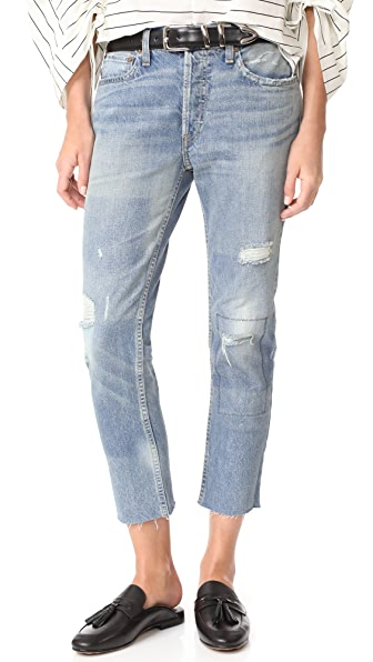 RE/DONE Relaxed Crop Jeans